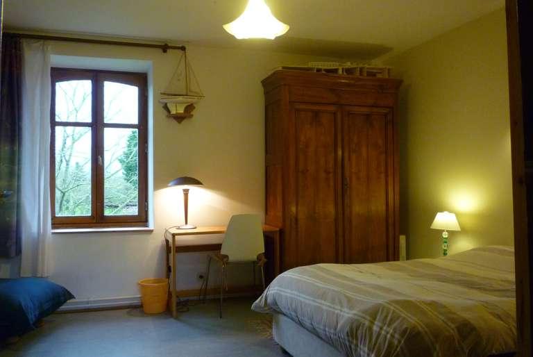 Une des chambres pour le Wwoofing
