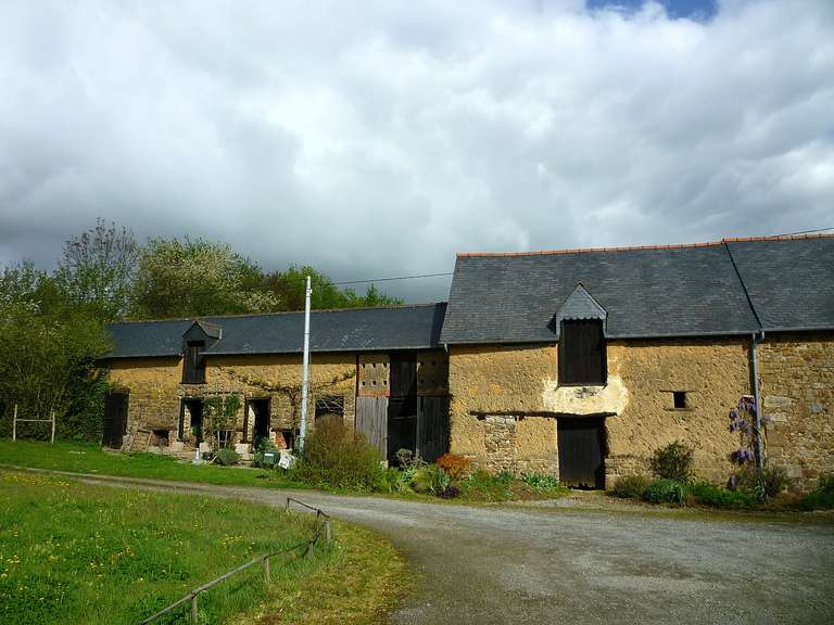 The initial barn