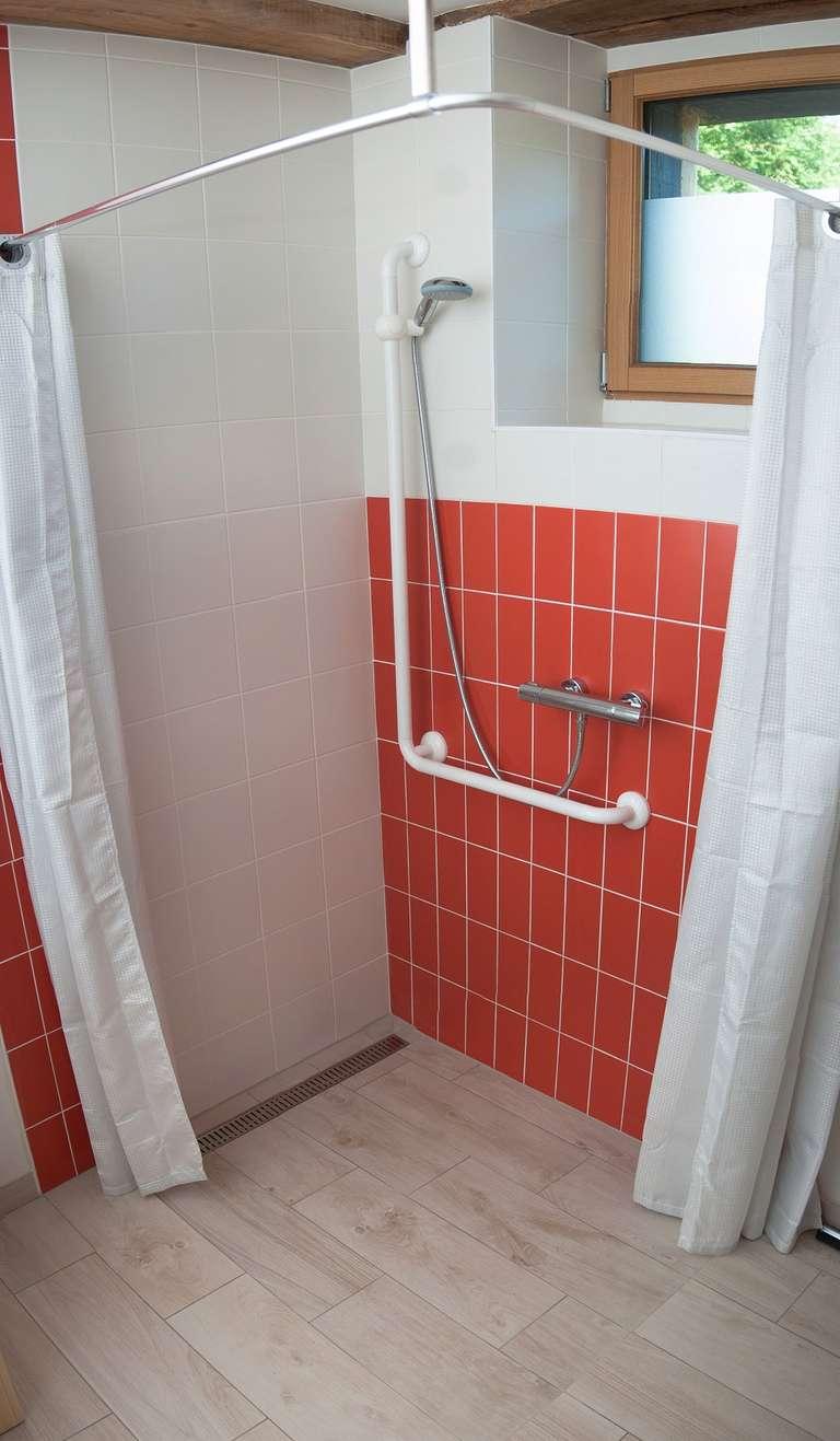 The Italian-style shower