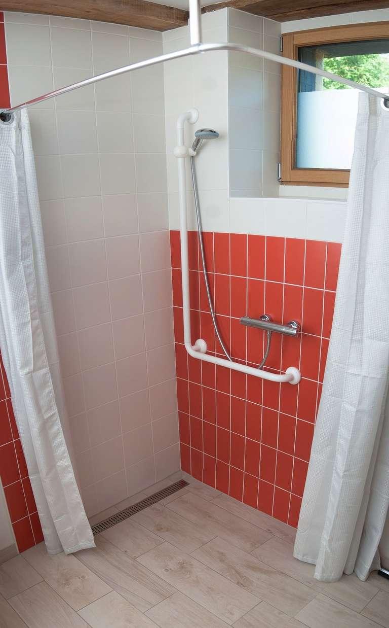 Die italienische Dusche
