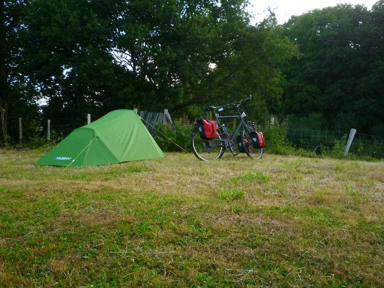 Bivouac at the campsite