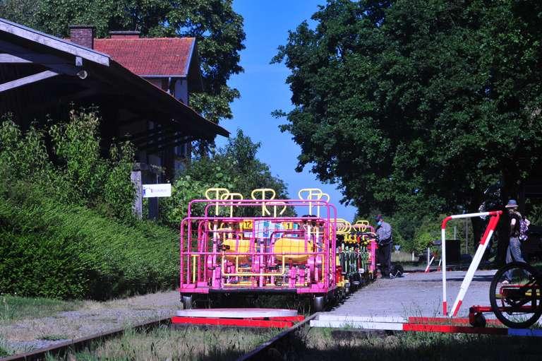 Le Vélo-Rail de Médréac